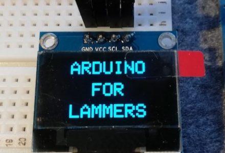 128×64 LCD OLED LED wyświetlacz na I2C