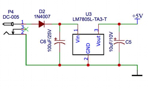 Stabilizator na LM7805, czyli zasilamy własne Arduino Diet.